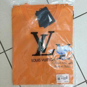 Louis Vuitton Short Sleeve Casual Daily T-Shirt